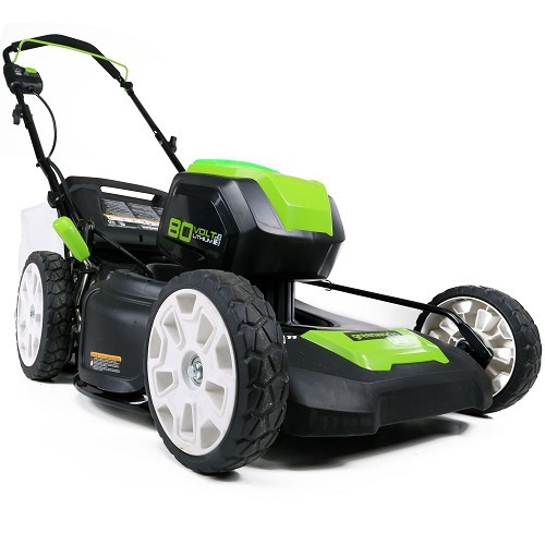 מכסחת דשא GREEN WORKS נטענת 80v Brushless גוף בלבד